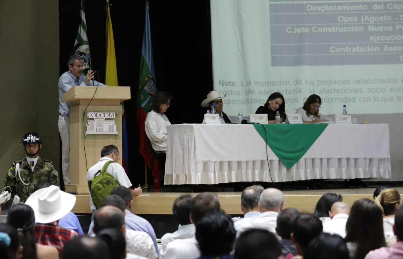 ANI explica ante parlamentarios la ejecución del proyecto Bogotá-Villavicencio