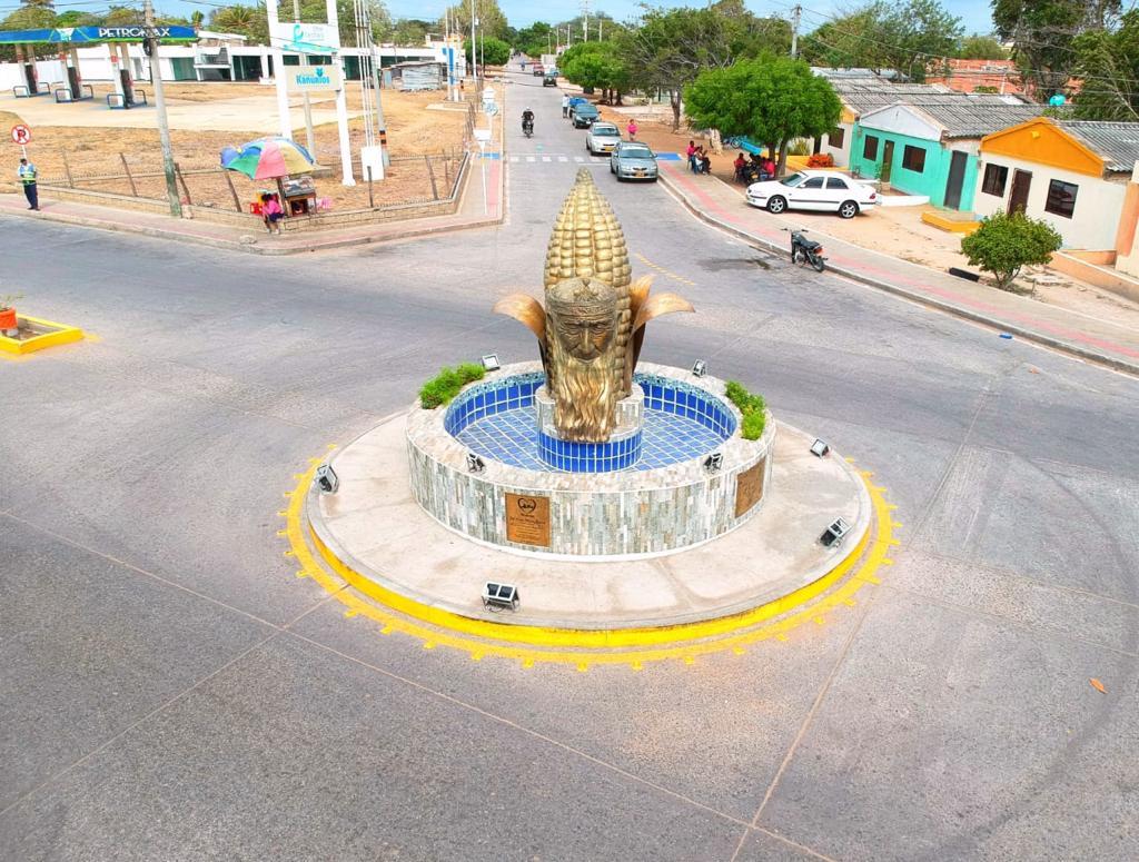 Gobierno busca alternativas concertadas por obras construidas en la vía Paradero-Maicao
