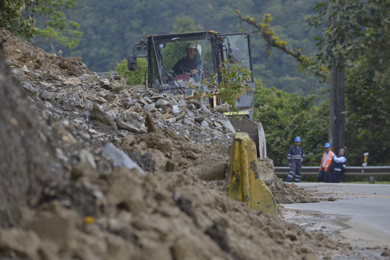 Así opera el plan de contingencia para la atención de derrumbes entre Bogotá y Villavicencio