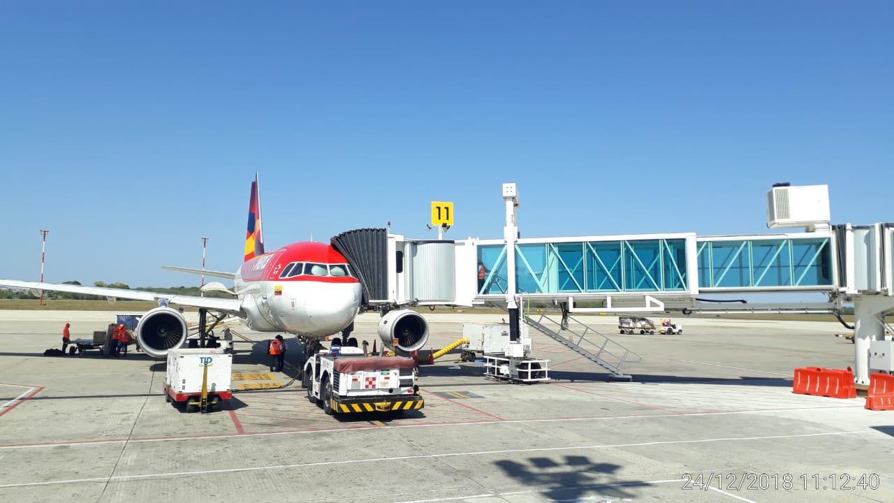 En Navidad, turistas y viajeros del  Aeropuerto Ernesto Cortissoz de Barranquilla estrenan salas y puentes de abordaje