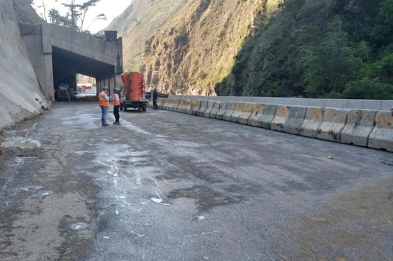 Nuevamente entra en operación el paso en el kilómetro 46 de la vía Bogotá – Villavicencio