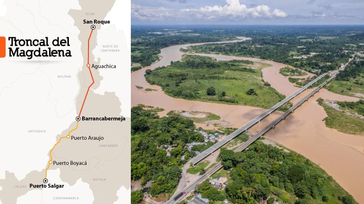ANI avanza en la estructuración de la Troncal del Magdalena