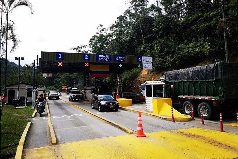Mintransporte habilita tarifas diferenciales para transportadores de servicio público de pasajeros y carga, en peaje de Amagá en Antioquia