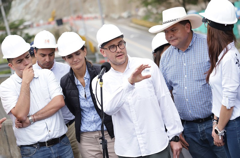 Manuel Felipe Gutiérrez asumió la presidencia de la Agencia Nacional de Infraestructura
