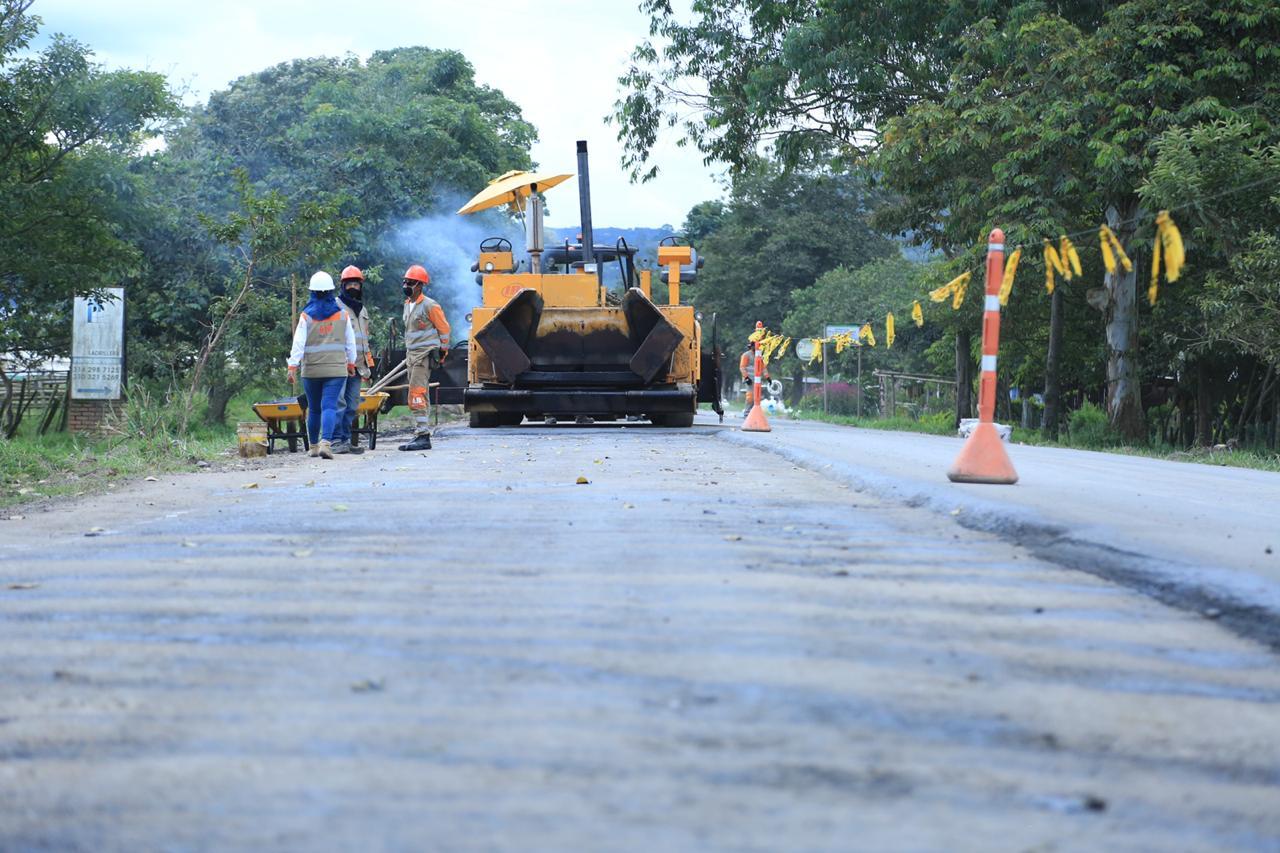 Avanzan intervenciones de la Fase I del Plan Remedial  en el Corredor Santana–Mocoa-Neiva