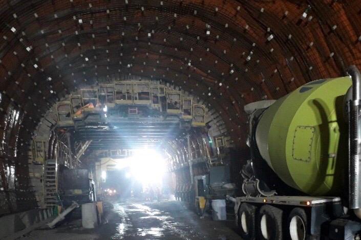 Avanza la construcción de cuatro grandes túneles en el suroeste antioqueño y el Eje Cafetero