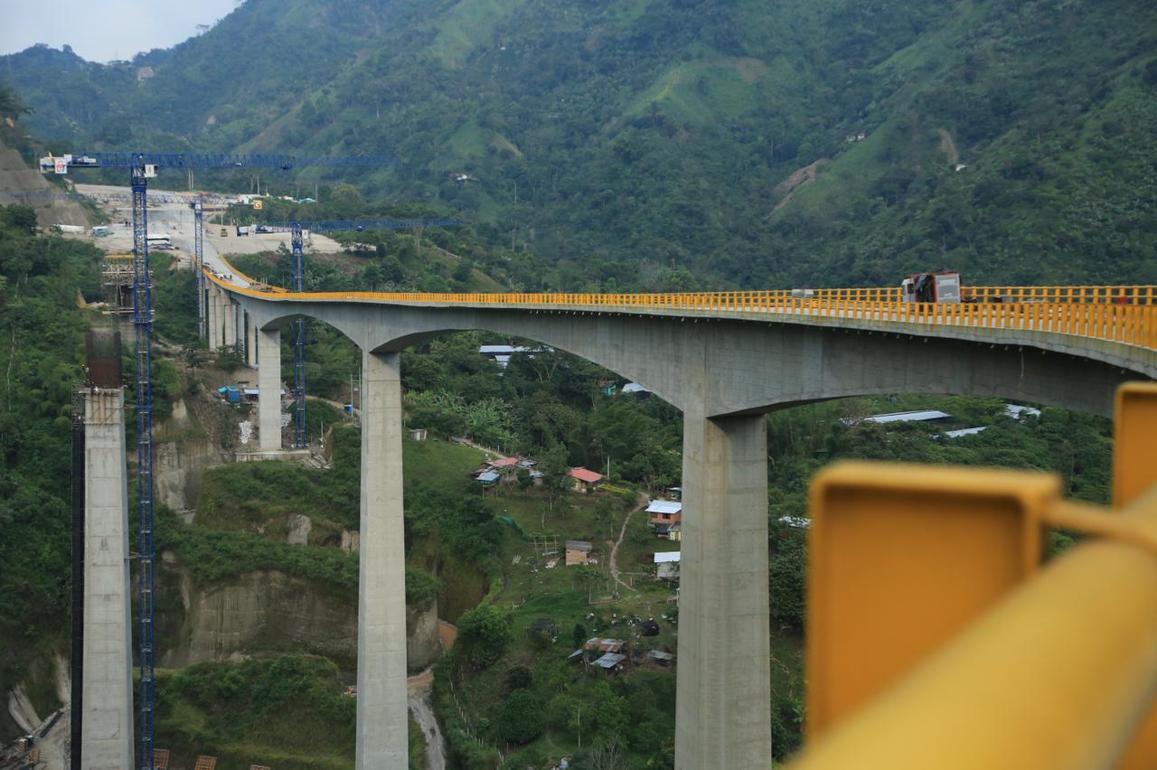 En mayo entrará en operación la segunda calzada entre Combeima y el Valle del Cocora en el Tolima