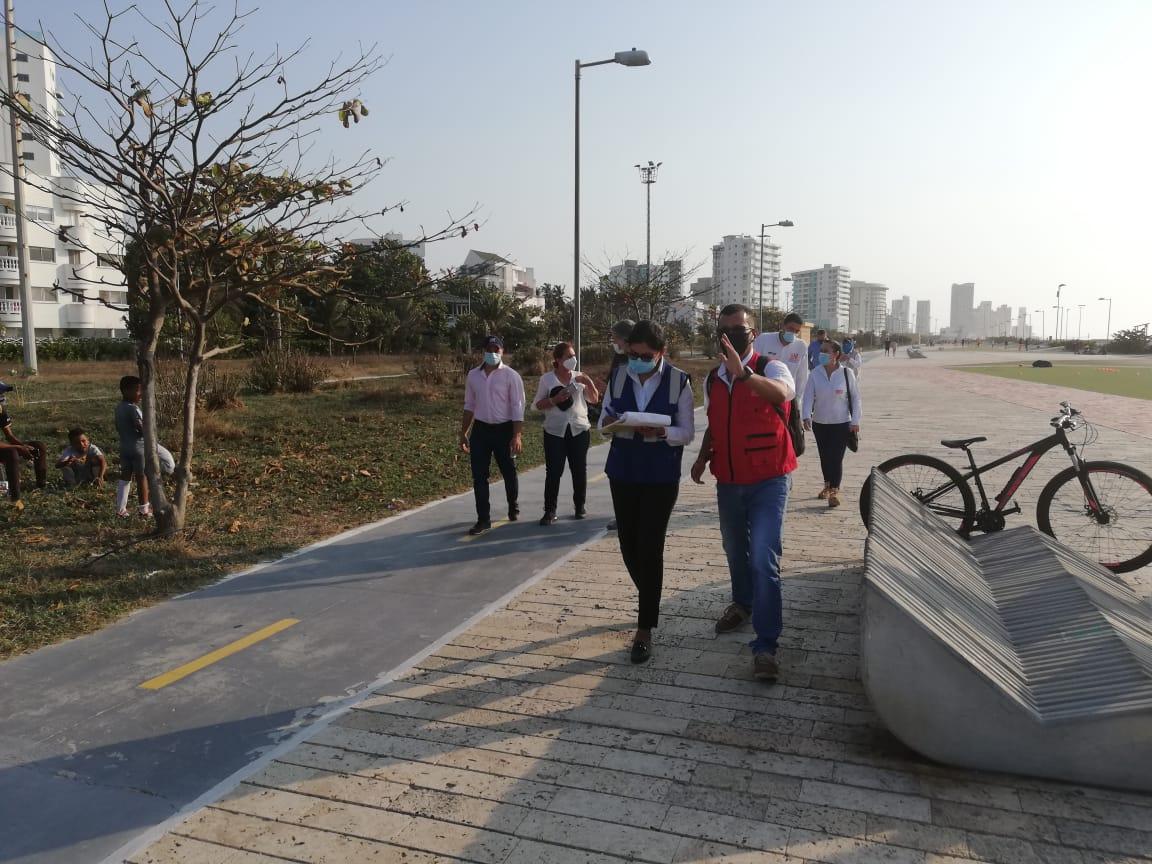 ANI y Ruta Costera firman acta para iniciar adecuaciones en el Parque Lineal de Crespo, en Cartagena