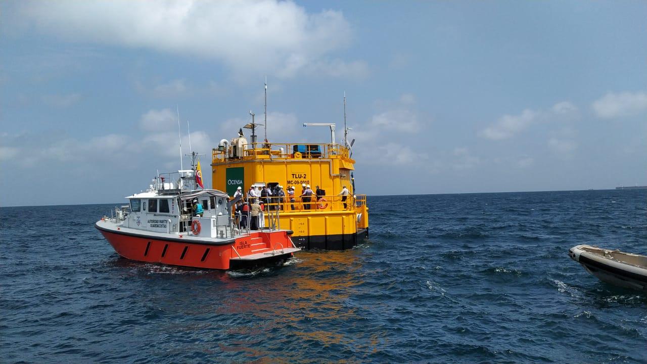 Gobierno Nacional pone en servicio la nueva Unidad de Cargue de Tanqueros (TLU-2) en el Terminal Marítimo de Coveñas