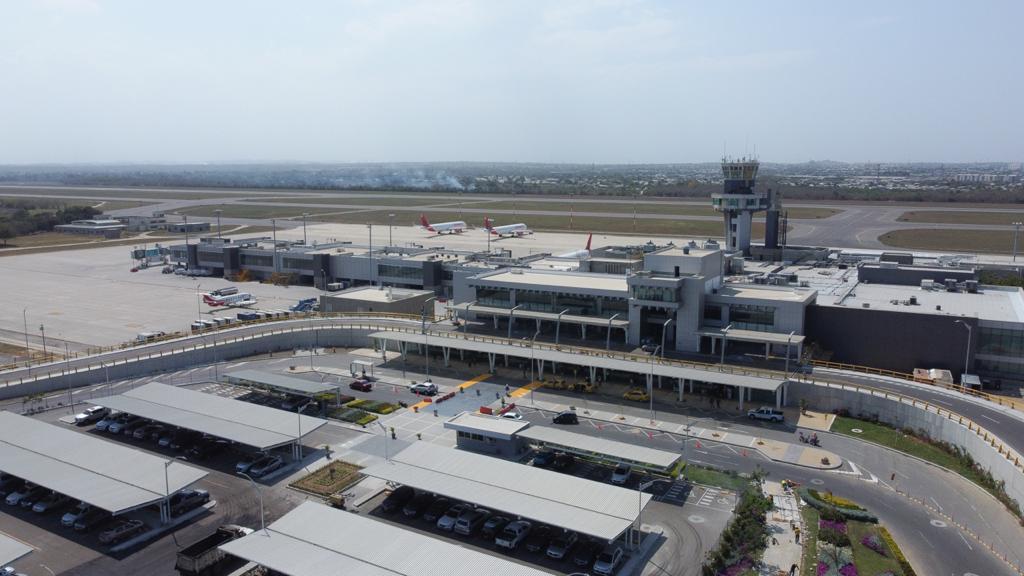 Avanza la segunda etapa de las obras en el Aeropuerto Ernesto Cortissoz de Barranquilla