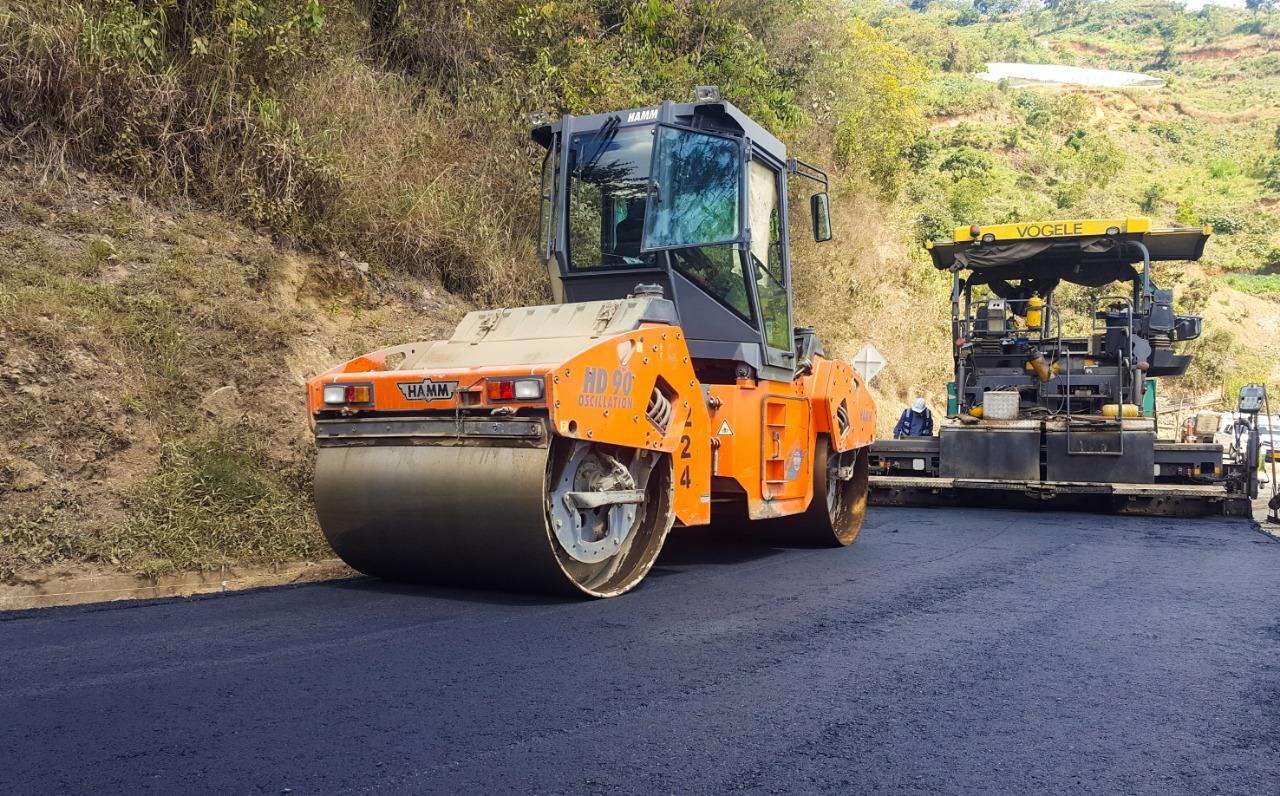 Comienza el mantenimiento en la vía entre Santa Fe de Antioquia y Cañasgordas